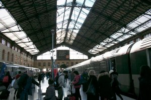 Toulouse Rail Station, France